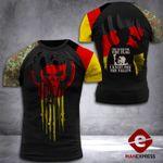 German Veteran Tshirt 3D Print 150921TMA