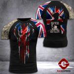 British Veteran Tshirt 3D 190521TMA