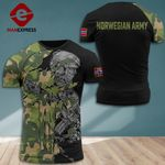 Norway Army Soldier Tshirt 3D 160921PDT