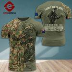 AH Australian Veterans TSHIRT 3D PRINTED SEP-QH16