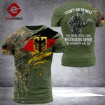 AH German Soldier TSHIRT 3D PRINTED SEP-QH17