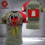 Hamburg Tshirt 3D Print 170921HTQ