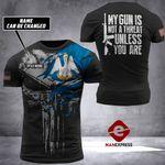 Louisiana Patriot Tshirt 3D Print 170921HVQ