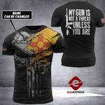 New Mexico Patriot Tshirt 3D Print 170921HVQ