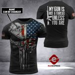 US Patriot Tshirt 3D Print 170921HVQ