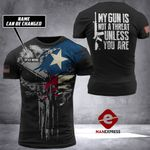 Texas Patriot Tshirt 3D Print 170921HVQ