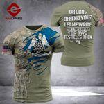 AH Louisiana Patriots TSHIRT 3D PRINTED SEP-QH21