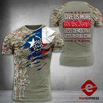 AH Texas Patriots TSHIRT 3D PRINTED SEP-MA22