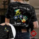 Louisiana Don't Follow Me Tshirt 3D Print PDT280921