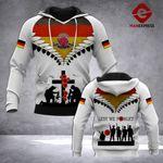 German Veteran Hoodie 3D Print TMA280921