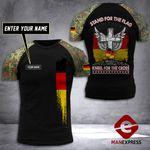 Customized German Soldier Tshirt 3D Print 290921TMA