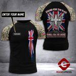 Customized British Soldier Tshirt 3D Print 290921TMA