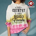A Little Country A Little Hood Florida Hoodie 3D TMA1110