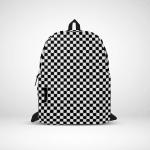 Black and white polka dots Backpack