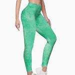 Mandala Green Leggings