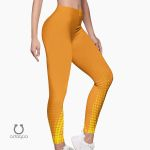Odaqua Orange Sports Leggings