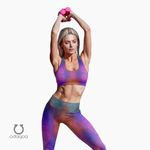 Medium-Support Triang butterfly Sports Bra
