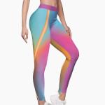 Aqua M-Edition Sports Leggings
