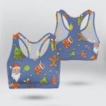Christmas B-Accessories Sports Bra