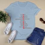 Vaccinated T-shirt, Vaccine Shirt, Vaccinated Tee, Pro Vaccines Shirt, Nurse Funny Shirt, Vaccines Saves Lives