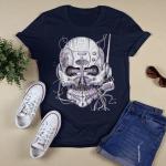 Rock Shirt - Rock T-shirt - Guitar Tees - Unisex - Electric Shirts - Rock Guitar Gift Idea - Rock Electric Week Gift - Skull