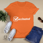 Vaccinated Shirt, Vaccinated AF Tee for Her, Pro Vaccine, Gift For Mom, Sarcastic Shirt for Women