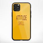 Attitude Over Skill Phone Cases