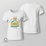 It's Vaccine Time Shirt, Vaccinated AF Tee for Her, Pro Vaccine, Gift For Mom, Sarcastic Shirt for Women, no 801