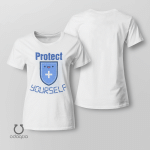 Protect Yourself Shirt, Vaccinated AF Tee for Her, Pro Vaccine, Gift For Mom, Sarcastic Shirt for Women