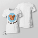Vaccinated Shirt, Vaccinated AF Tee for Her, Pro Vaccine, Gift For Mom, Sarcastic Shirt for Women, no 1001