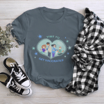 Time To Get Vaccinated Shirt, Vaccinated AF Tee for All, Pro Vaccine, Gift For Doctor, Gift For Nurse