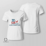 I Got Vaccinated Shirt, Vaccinated AF Tee for Her, Pro Vaccine, Gift For Mom, Sarcastic Shirt for Women, no 601