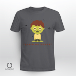 Green, Funny Shirt, Trick or Treat Shirt, Happy Halloween Shirt