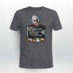 Clown, Funny Shirt, Trick or Treat Shirt, Happy Halloween Shirt