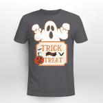 Boo, Funny Shirt, Trick or Treat Shirt, Happy Halloween Shirt