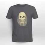 Skeleton, Funny Shirt, Trick or Treat Shirt, Happy Halloween Shirt