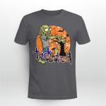 Zombie, Funny Shirt, Trick or Treat Shirt, Happy Halloween Shirt