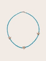 Fashion Bohemian Ethnic Style Women's Necklace Choker Versatile Multi-layer Color Rice Beads Pearl Neck Female Necklace Jewelry