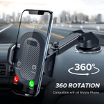 360 Mount in Car Phone Mount - Iphone & Android