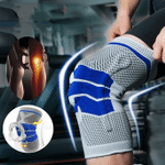 Silicone Full Knee Brace Support