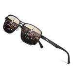 Men Polarized Metal Sunglasses