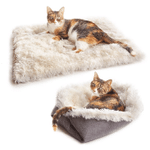 PawRoll Self-Warming Pet Convertible Bed
