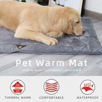 PawRoll® Self-Warming Dog Crate Pad
