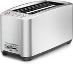 BTA830XL Die-Cast Smart Toaster 4-Slice Long Slot Toaster, Brushed Stainless Steel
