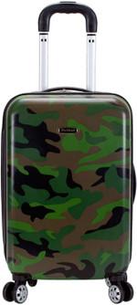 Hardside  Wheel Luggage, Leopard, Carry-On 20-Inch