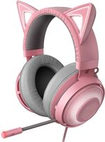 USB Gaming Headset: THX 7.1 Spatial Surround Sound - Chroma RGB Lighting - Retractable Active Noise Cancelling Mic - Lightweight Aluminum Frame - for PC