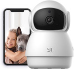 Wireless Securtiy Camera, Smart Home Cam with Enhanced Night Vision, 2-Way Audio, Motion Tracking & Detection, 360-degree, 1080p HD