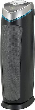 True HEPA Filter Air Purifier with UV Light Sanitizer, Eliminates Germs, Filters Allergies, Pollen, Smoke, Dust Pet Dander, Mold Odors, Quiet 22 inch 4-in-1 Air Purifier for Home AC4825E