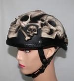 Motorcycle helmet skull halloween collection