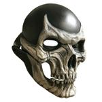 Creepy Halloween Skull Mask, Helmet Movable Jaw